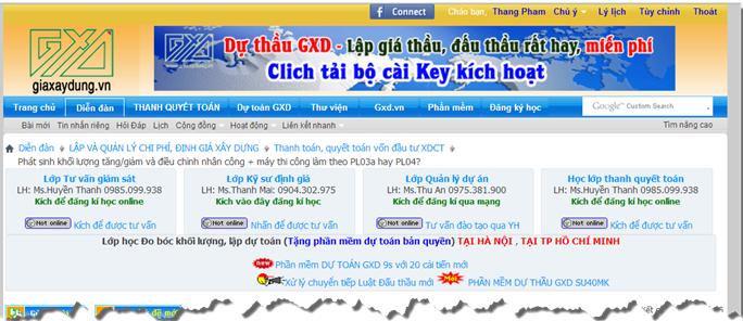 Trang tin giaxaydung.vn